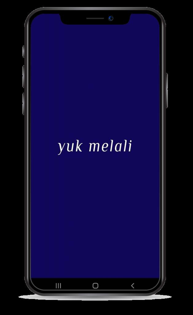 Aplikasi Yuk Melali Opening Screen